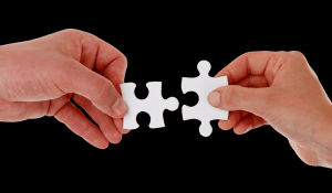 picture of jigsaw pieces indicating looking for the right candidate to join the team